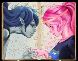 Princess Bubblegum and Marceline 2.0 by KofJP