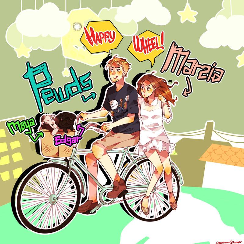 Happy Wheel! by sillyyellow