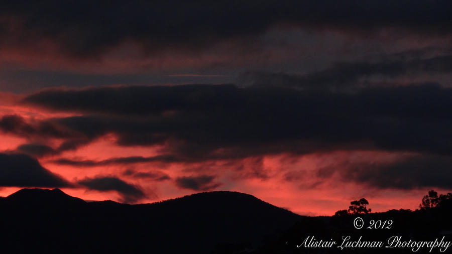 Tonight's Sunset: Why I Love Living in Tasmania by arluckman