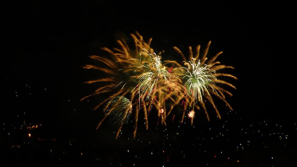 NYE Midnight Fireworks (Hobart, Tasmania) VII by arluckman