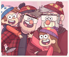 Bobble Hat Gang by ArcherVale