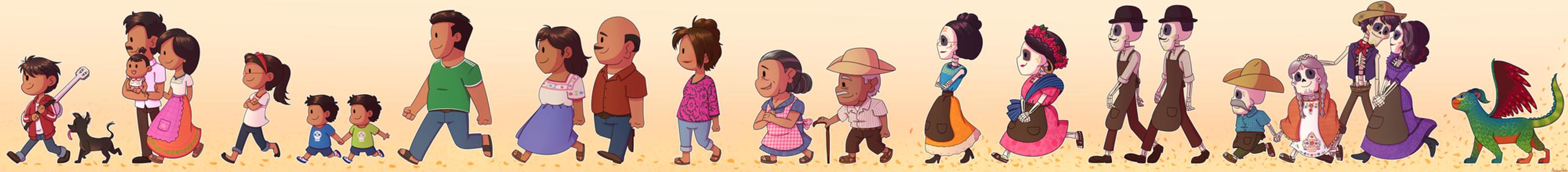 Familia Rivera by ArcherVale