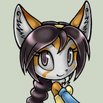 Alina the Fox, animated avatar by Alin-the-Dog