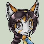 Alina the Fox, animated avatar by Alin-the-Dog