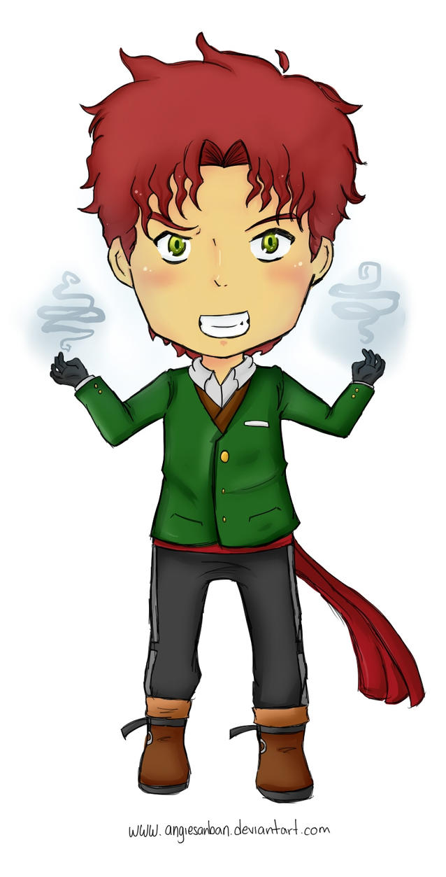Chibi protagonista by JaelynGS