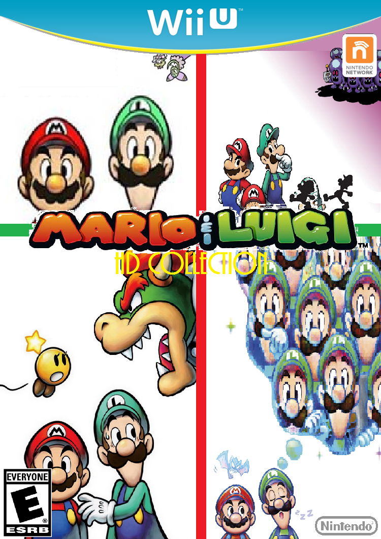 mario and luigi hd collection for wii u fake by moviestar1999 on