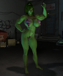 Sensational She Hulk by willdial