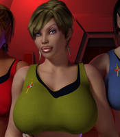 Terran Empire Recruitment - Jane T Kirk by willdial