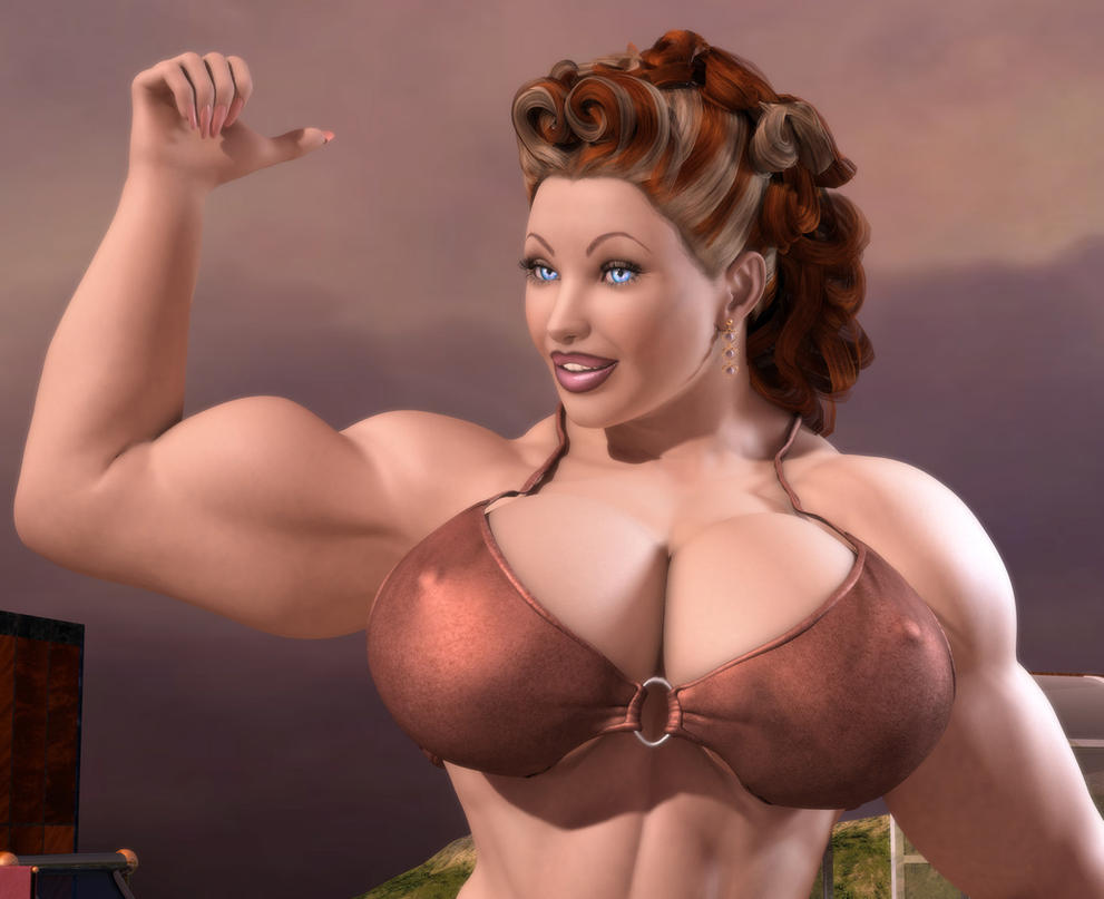 Mature Busty Muscle 51
