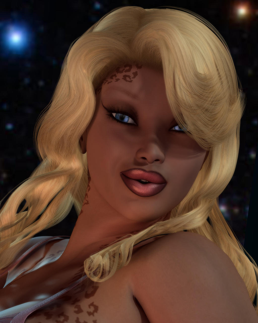 Portrait Preview - Blonde Trill by willdial