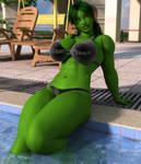 She Hulk Pool Revisited