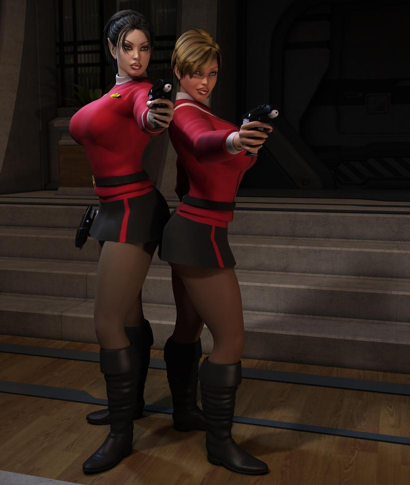 Trek Movie Women 01 by willdial