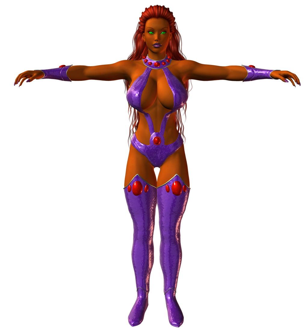 Preview: Starfire Revised by willdial