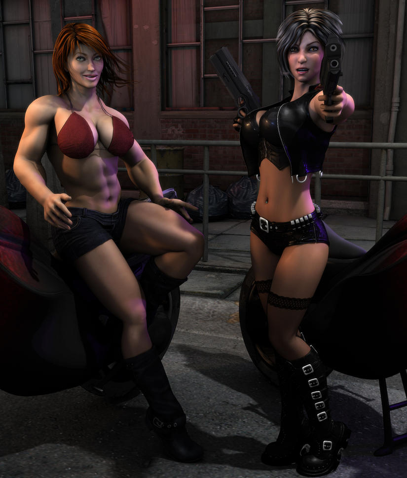 Bad Girls by willdial