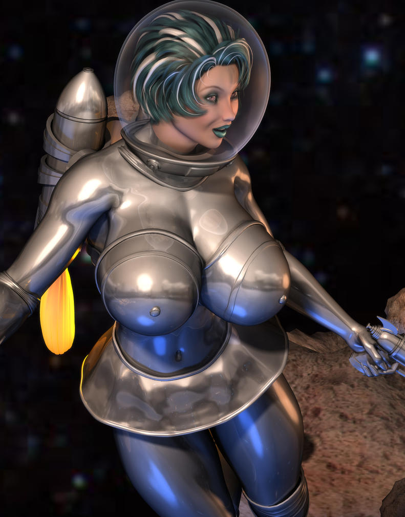 Rocket Girl Close Up by willdial