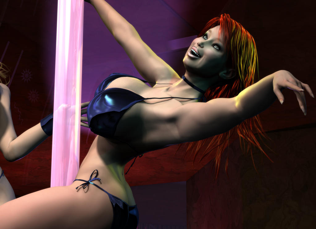 Strippers - Red Head by willdial