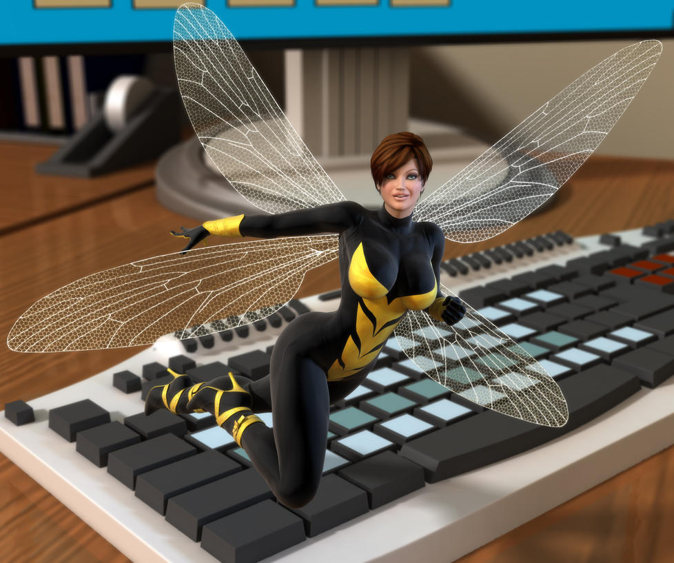 Wasp by willdial