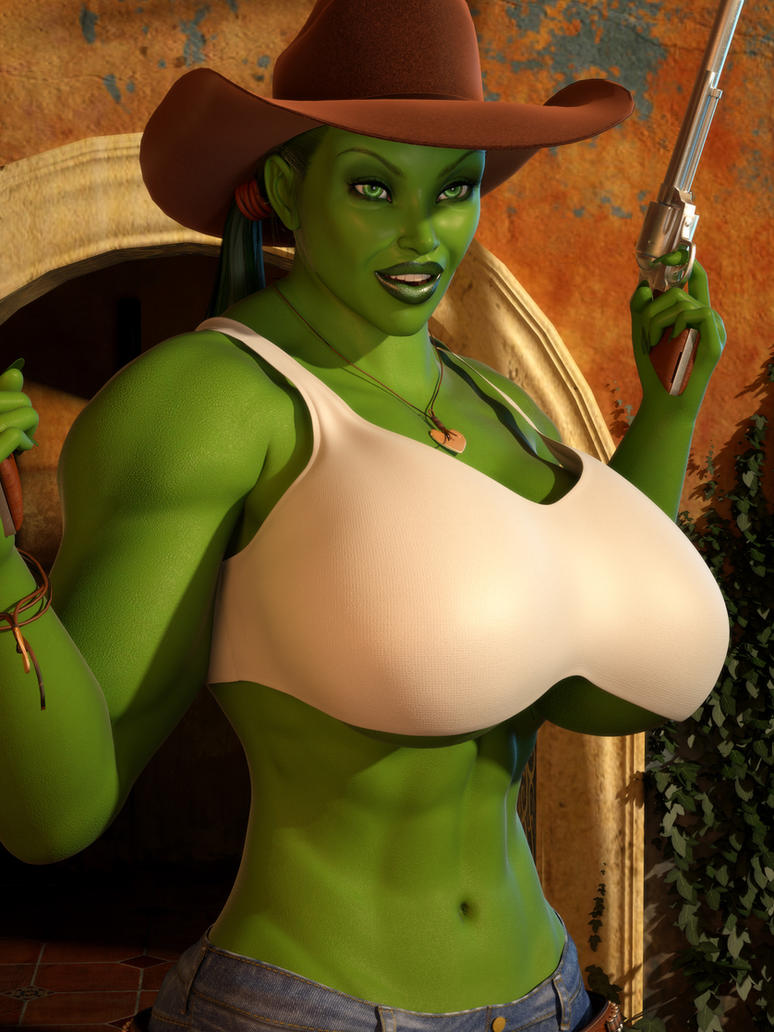 Cowgirl She Hulk 04 by willdial