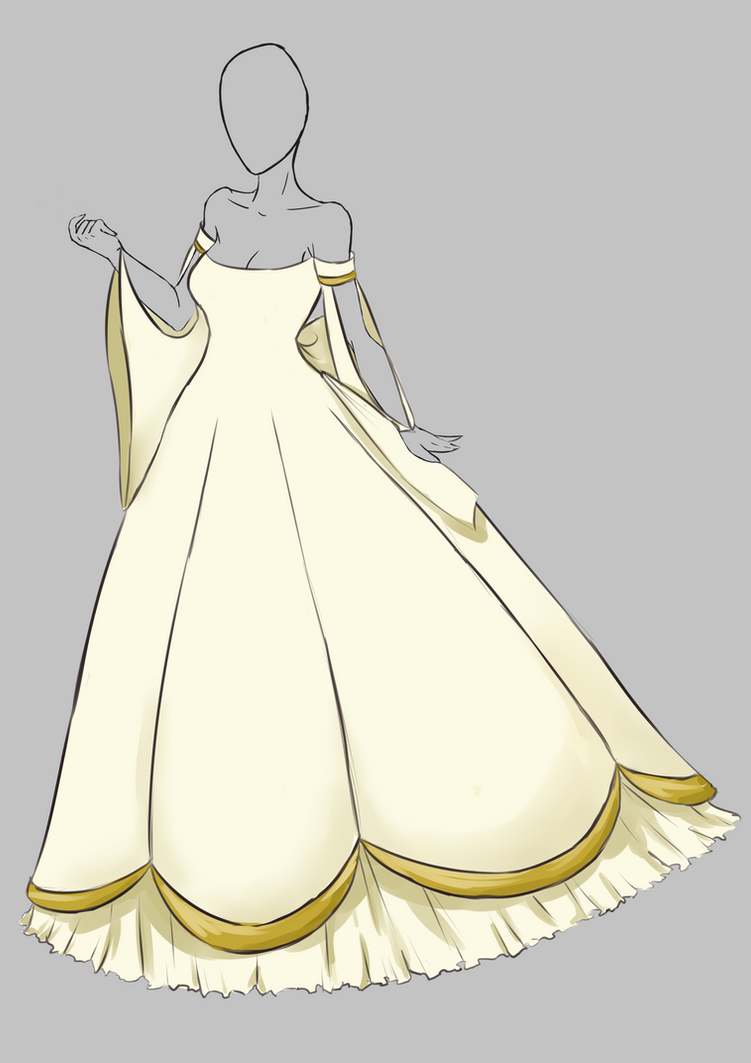 Dress Design 1 by WynterPhoenyx