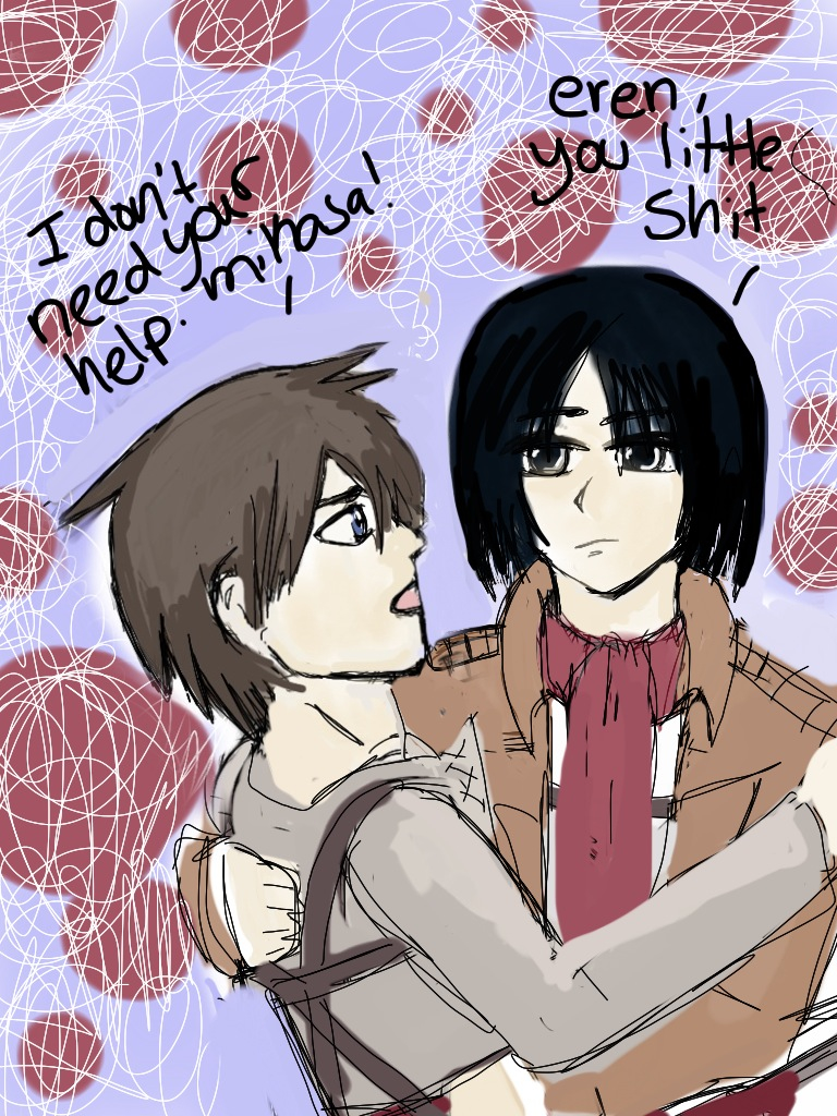 eren and mikasa relationship trust