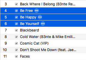 My iTunes is Trying to Send me a Positive Message by bingle23
