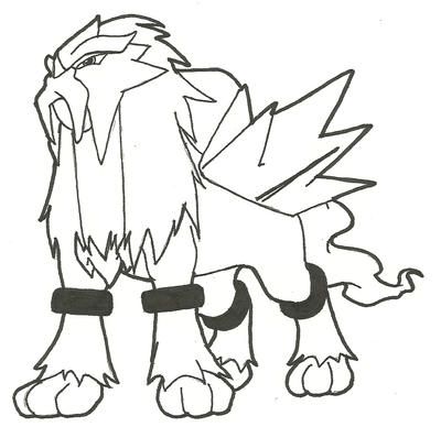 a new entei by devianaregina on deviantart