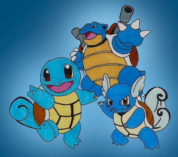 Related Keywords & Suggestions for squirtle blastoise