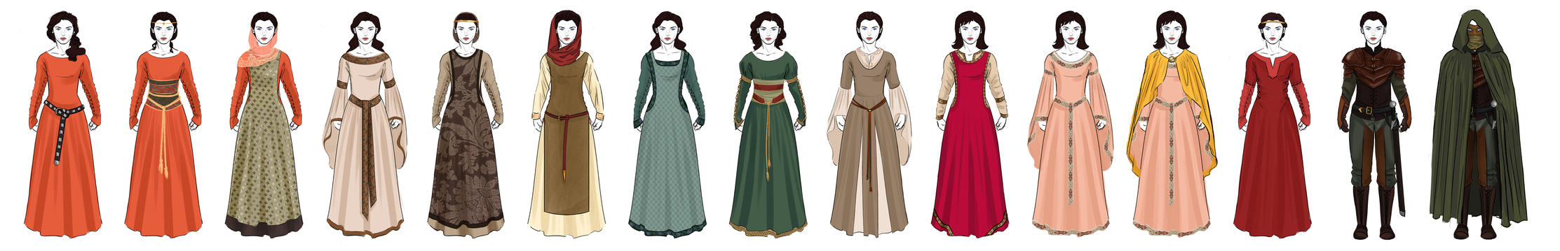 S1 Marian Redesigns - BBC Robin Hood by OtakuGirl16