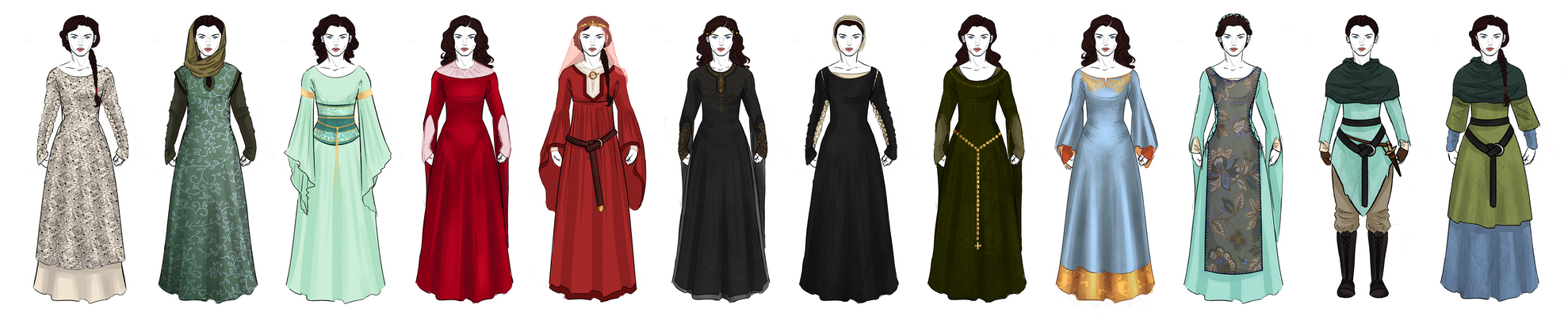 S2 Marian Redesigns - BBC Robin Hood by OtakuGirl16