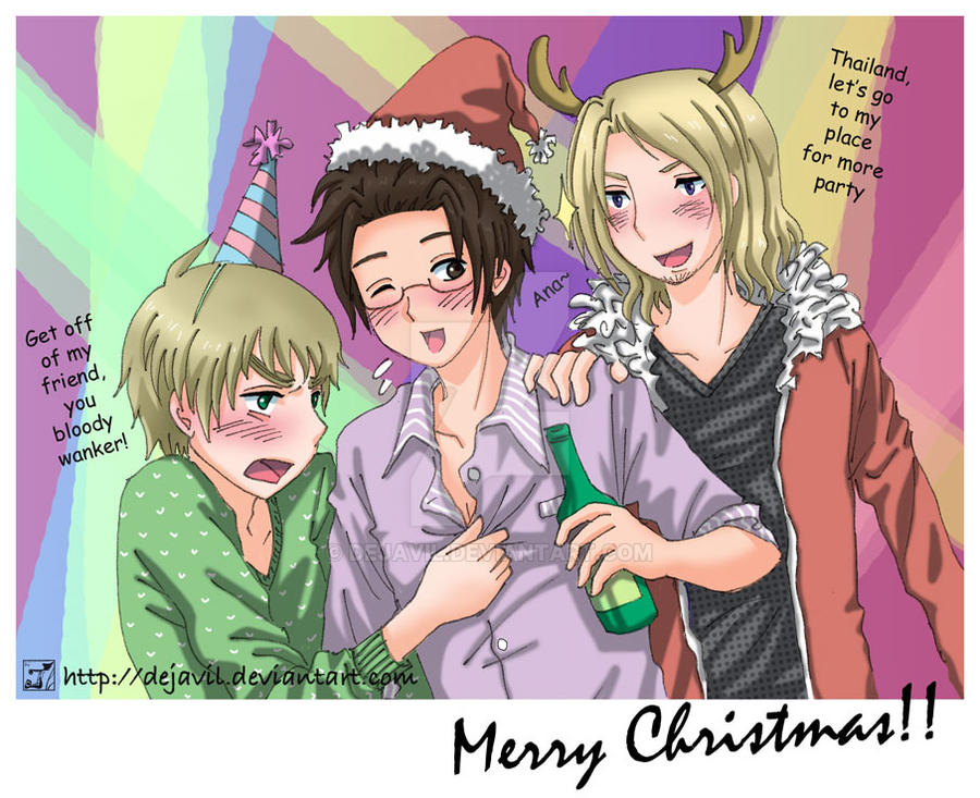 APH: party lovers by dejavil