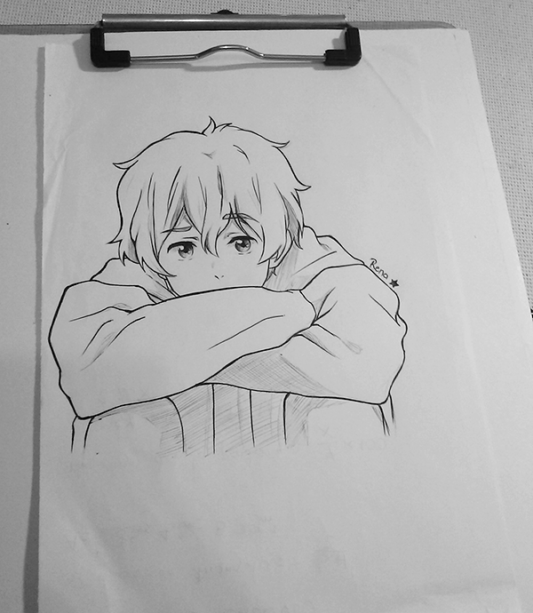 Nagisa sketch by stylable