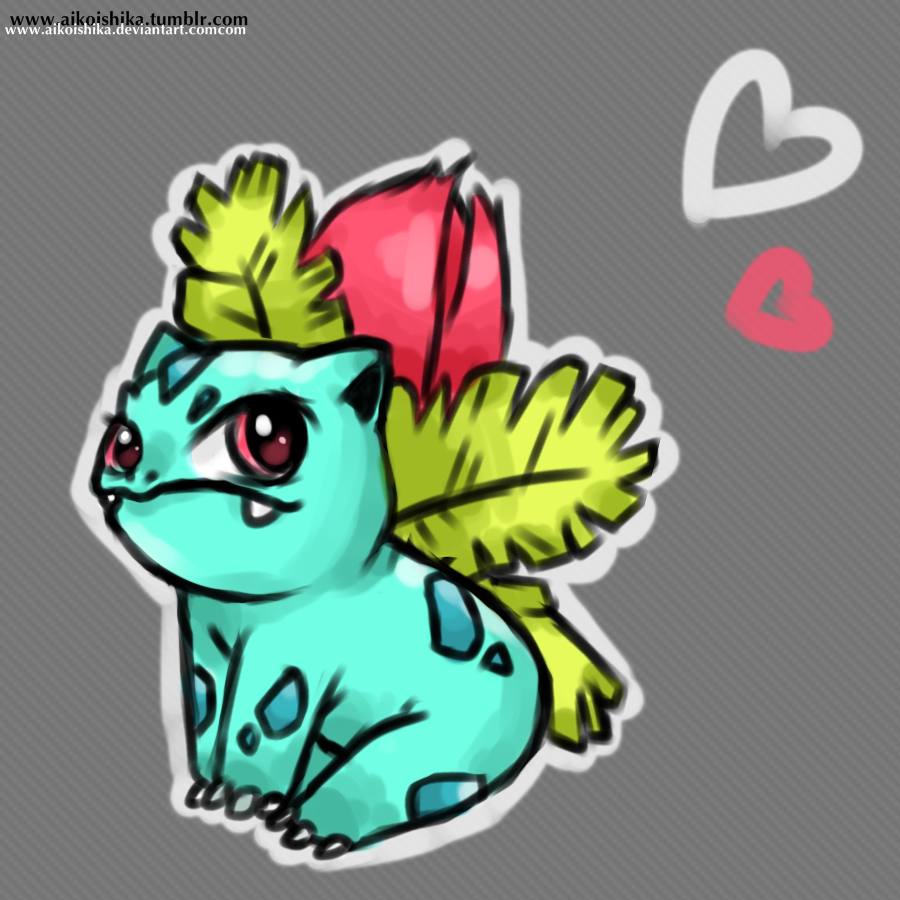 Ivysaur by husaria-chan
