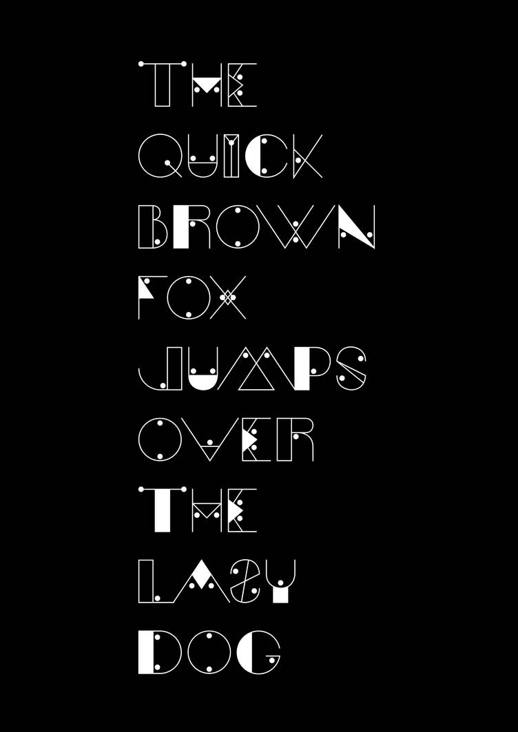 Moav Typeface by andreasleonidou