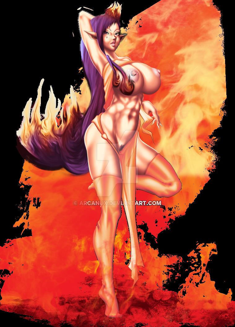 Morganna by arcanux