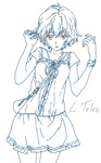 Rei Ayanami without glasses