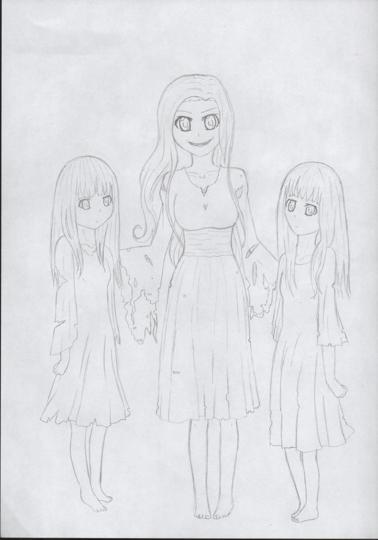Mouldheel Sisters by AnimeWatchingGuy