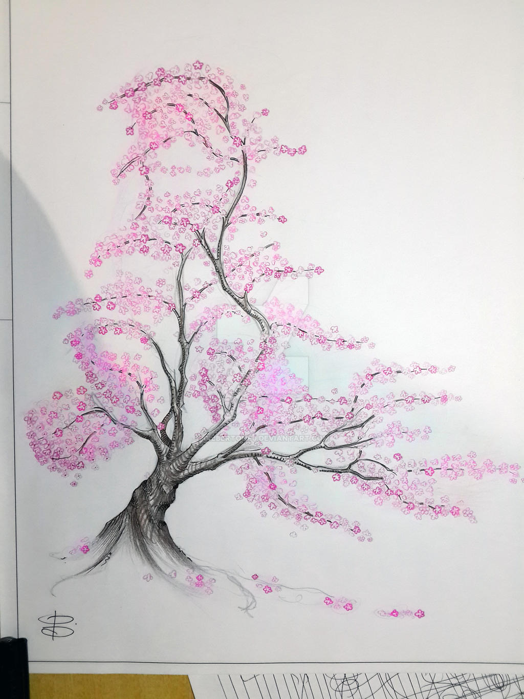 Uncategorized Cherry Blossom Tree Sketch cherry blossom tree by gilbertonfj on deviantart gilbertonfj