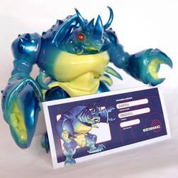 Ganira sofubi toy header card art
