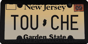License plate pwnage