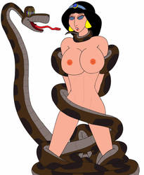 kaa and jasmine just for fun by bugboy1