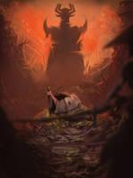Samurai Jack by Wrigglybear