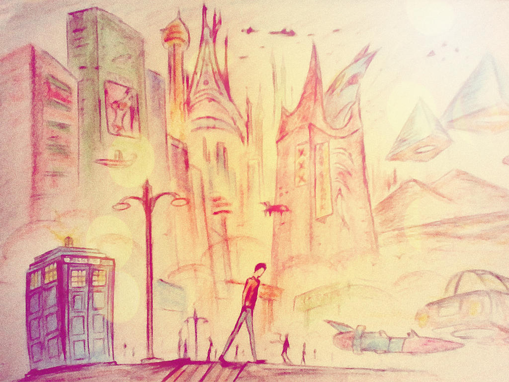 future surreal by svartblodartworks