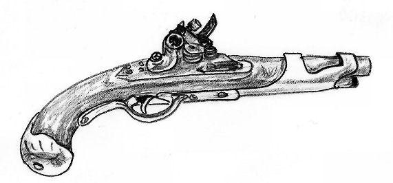 flintlock pistol by kane279