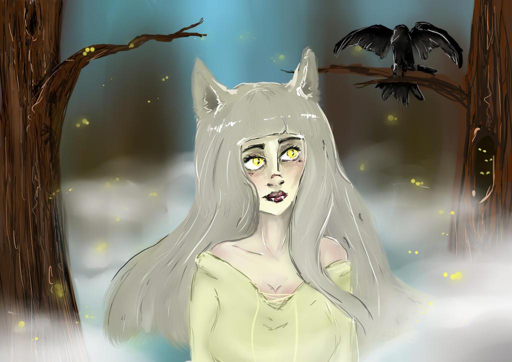 My soul will slip by MakkuroVanil