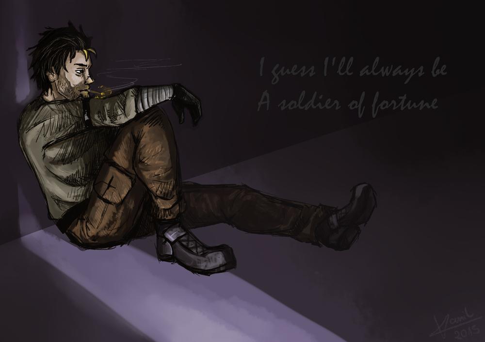 Soldier Of Fortune by VonVanil