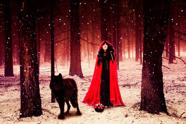 Red Riding Hood by Zania85