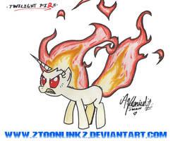 .Twilight Sp... Fire. by ZSparkonequus