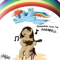 .EoH: RainbowDash - Somewhere. by ZSparkonequus