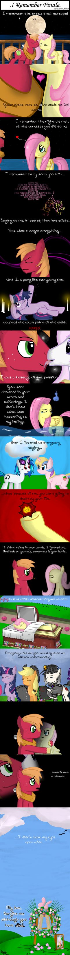 .Comic 4: My Little Pony: I Remember FINALE. by ZSparkonequus