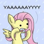 .Fluttershy: YAY!.